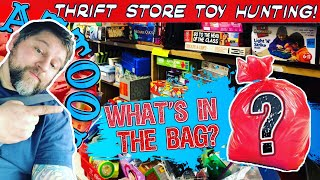 San Antonio Tx Thrift Store Toy Hunting! What's in the Bag?