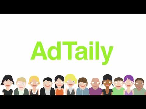 AdTaily: Self-Service. No-Commission Advertising on Your Website or Blog