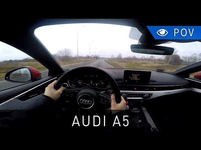 2017 Audi A5 Coupé 2.0 TFSI 252 KM quattro S tronic - POV Drive | Project Automotive