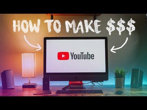 5 Ways to Make MONEY on YOUTUBE!
