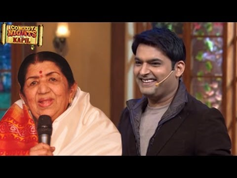 Lata Mangeshkar PERFORMS on Kapil Sharma's Comedy Nights with Kapil 27th April 2014 FULL EPISODE