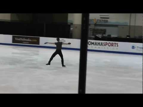 Adam Rippon, SP practice 2013 US Nats (1.24.2013)