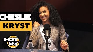 Miss USA Cheslie Kryst On Criminal Justice Reform, Pageant Questions + Miss Universe