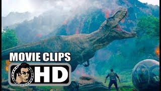 JURASSIC WORLD: FALLEN KINGDOM All Clips, Trailers & Featurettes 2018 Chris Pratt Movie HD