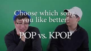 Download Lagu Koreans try the POP vs KPOP CHALLENGE! Gratis STAFABAND