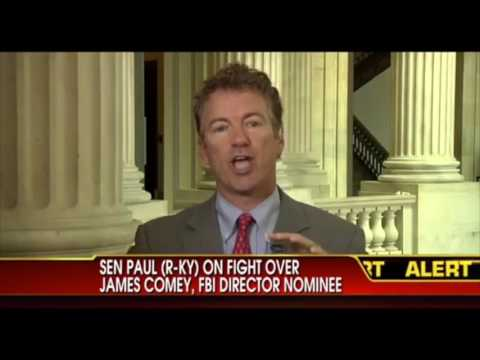 Rand Paul Blocked FBI James Comey's Appointment | Hillary Clinton Email Scandal