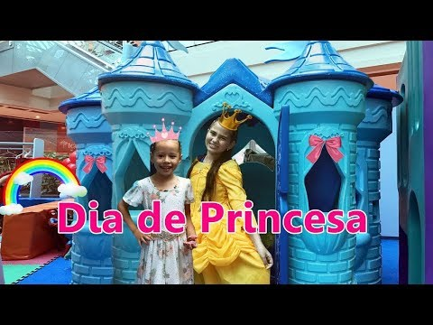 DIA DE PRINCESA - BELA BAGUNÇA E VALENTINA thumbnail