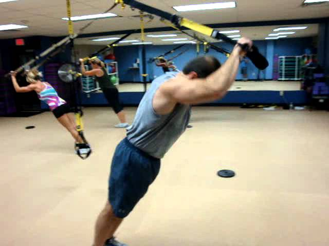 TRX Training with Trish at Straub's Fitness, Goshen, NY