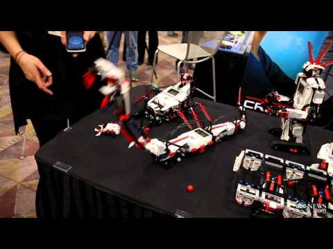 Consumer Electronics Show (CES) 2013 Recap, Highlights: Lego Mindstorms EV3