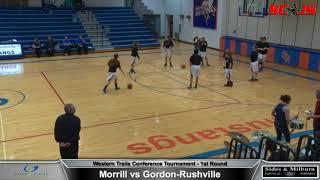 BASKETBALL TOURNAMENT - FULL MATCH - Morrill vs Gordon-Rushville Inc. Commentary - FREAM Sports