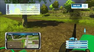 "Farming Simulator (PS3) - The Beginning ""Hagenstedt map"""