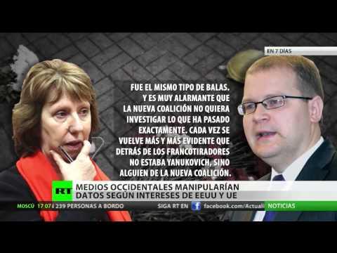 Conversación filtrada entre Catherine Ashton y Urmas: La oposición contrató a asesinos de Kiev