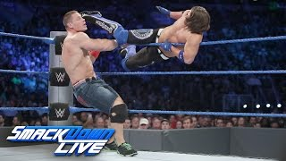 John Cena & Dean Ambrose vs. AJ Styles & The Miz: SmackDown LIVE, 13. September 2016
