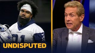 Skip Bayless is worried that the Cowboys won't reach a deal with Zeke today | NFL | UNDISPUTED
