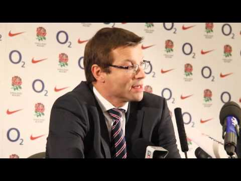 Martin Johnson and Rob Andrew face the media as Johnno resigns - Martin Johnson and Rob Andrew face