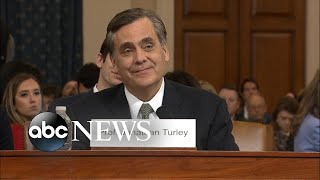 Jonathan Turley delivers opening statement at impeachment hearing | ABC News