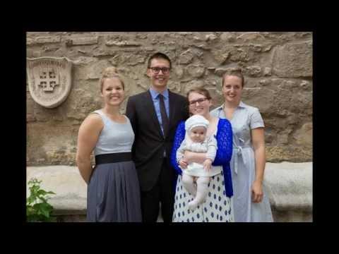 Taufe von Frida in der Ruprechtskirche