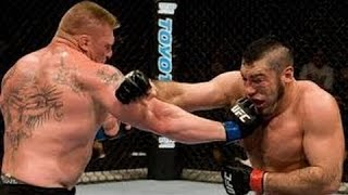 Download Brock Lesnar Vs Heath Herring Full Fight Night - UFC Event RESULT 3Gp Mp4