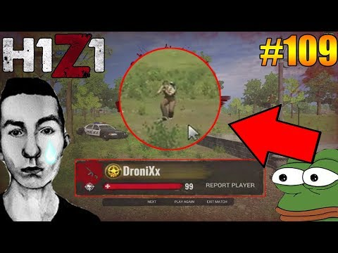 ErycTriceps gets killed by 1HOUR H1Z1 Player! H1Z1 - Oddshots & Funny Moments #109
