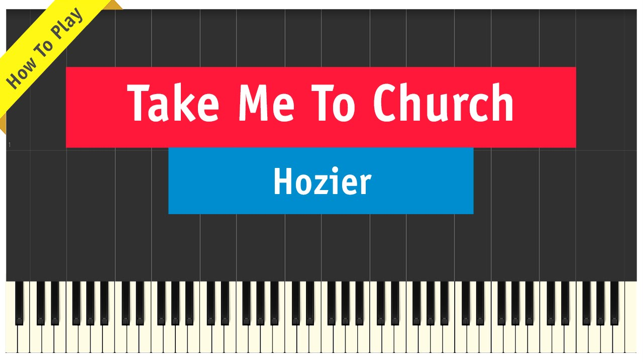 how to play take me to church on keyboard
