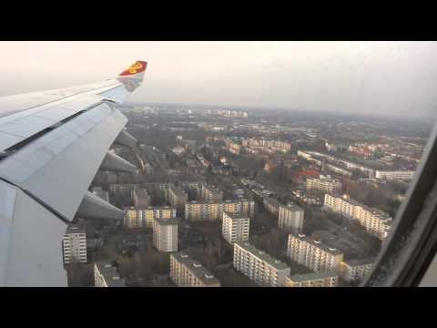 Hainan Airlines - Airbus A330-200 landing at Berlin Tegel Airport