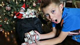 💰BAG FULL OF MONEY!!!💵 | ELF ON THE SHELF