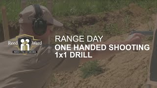 One Handed Shooting 1x1 Drill - Range Day II | CCW Guardian