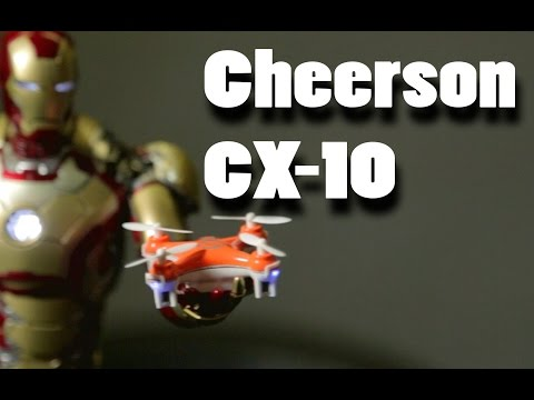 Cheerson CX-10 The World's Smallest Quadcopter!! Review in Action.