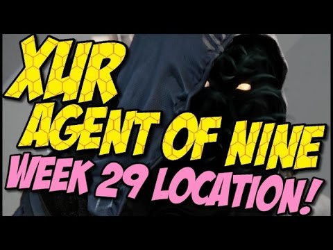 Xur Agent of Nine! Week 29 Location, Items and Recommendations!