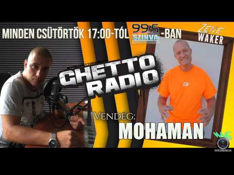 Ghetto Radio 2015 -  Mohaman Interjú (06.11) @ Szinva Rádió Miskolc