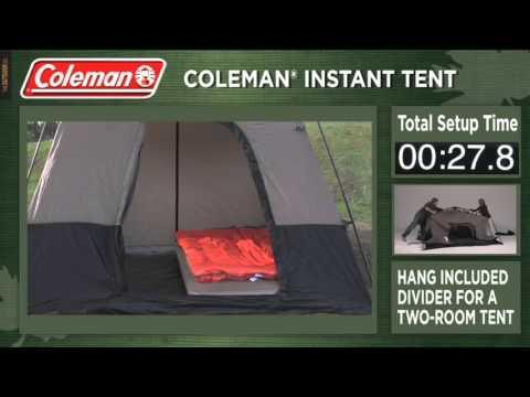 Carpa Coleman Instant para 6 u 8 personas