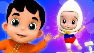 Humpty Dumpty | Kindergarten Videos For Toddlers | Nursery Rhymes For Babies
