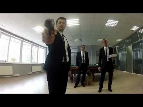Hitman Real Life[First Person Shooter Fight] (HD) Real Life.