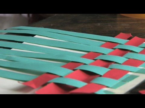 art for kids art for kids how to weave a mat youtube