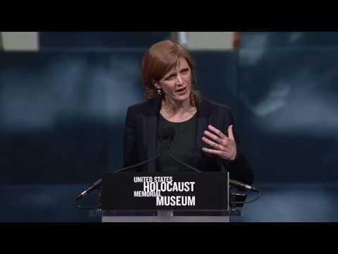 Samantha Power Delivers Keynote at Museum's 2014 National Tribute Dinner