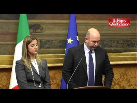 """Governo, M5S: """"No alla fiducia, sì ad un governo 5 Stelle"""" (27/03/2013)"""