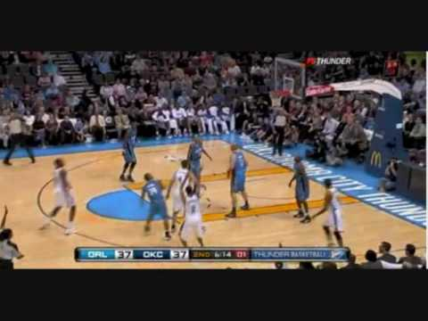 Oklahoma City Thunder 2009-2010 Hate In Your Eyes Chamillionaire video