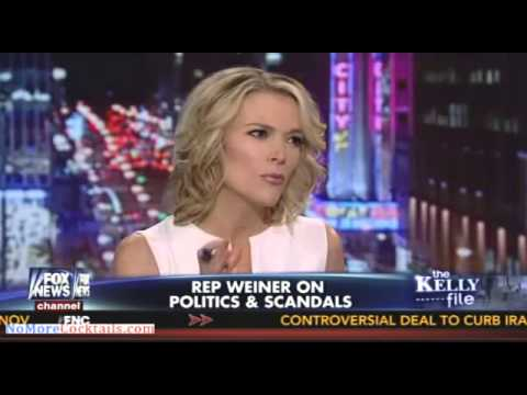 Epic: Megyn Kelly hammers Weiner - How can someone with a secret like that be so cocky?