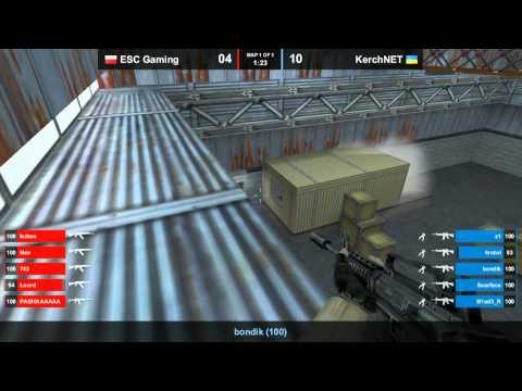 CS 1.6 FCL 2012 : KerchNet vs. ESC-Gaming @ nuke