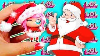 DIY LOL Surprise CUSTOM Dolls CHRISTMAS EDITION Santa CLAUS Baby Series 3