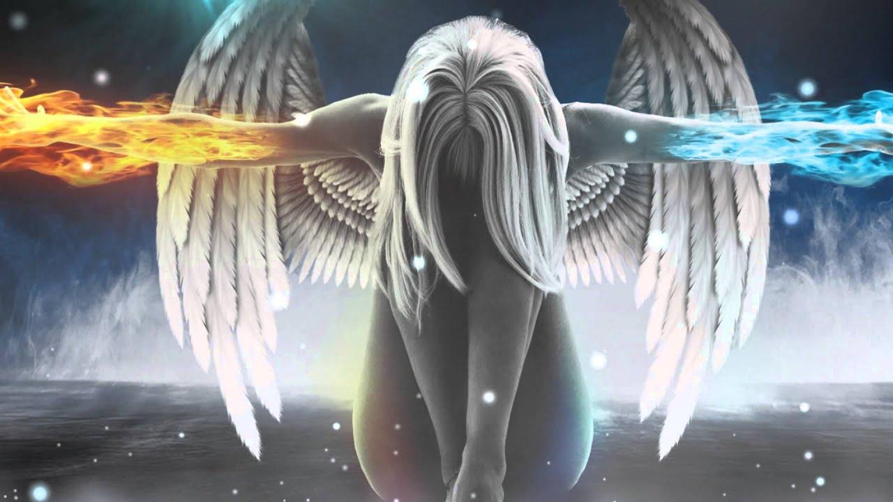 Фото ангелы огня девушки