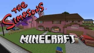 Minecraft Awesome Simpsons Map! Free Download!