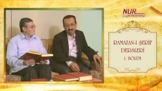 Prof. Dr. Alaaddin Başar - Ramazan-ı Şerif 1. Bölüm 1. Nükte