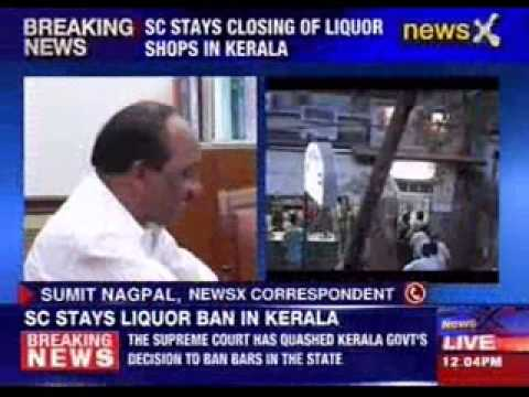 SC stays closing of liquor shops in Kerala