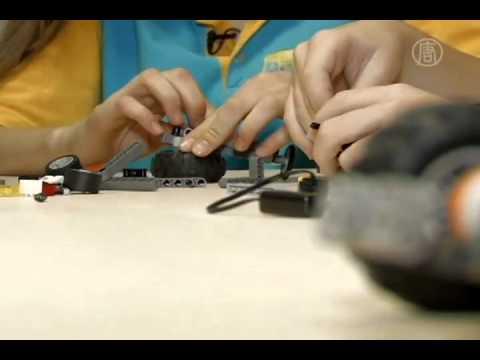 Jóvenes inventores ucranianos crean sorprendentes robots