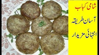 Shami Kabab with Beef