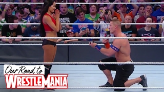 John Cena and Nikki Bella are engaged! 😍👫❤ - Courtesy of WWE Network