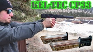 Kel-Tec CP33 Review: 33- or 50-round .22 LR Pistol!