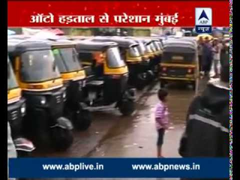 Mumbai autorickshaw drivers go on strike, demads shutting down cab services