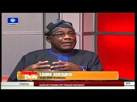 Sunrise Daily: Nigeria Ready For Elections - Dr Lanre Adebayo Pt.1